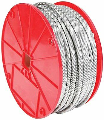 Koch 003163 3/16 by 500-Feet 7 by 19 Cable , Galvanized