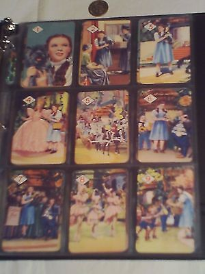 Antique 1939 THE WIZARD OF OZ Card Game Judy Garland MGM PEPYS England CASTELL +
