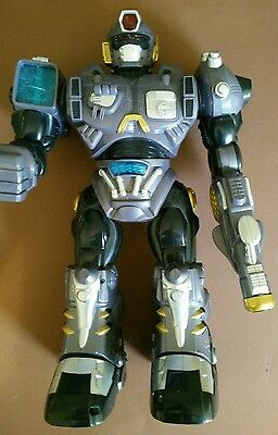 hap-p-kid large toy lights and sound moving robot 15""