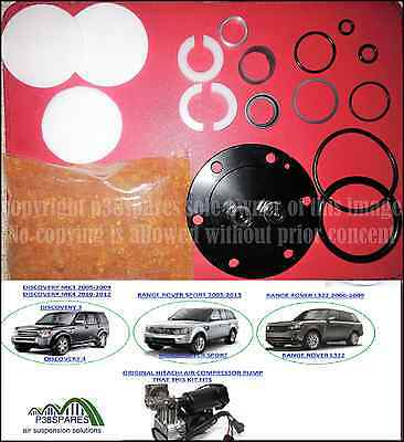 Land Rover Discovery 3 MK3 air suspension Hitachi Complete pump repair kit