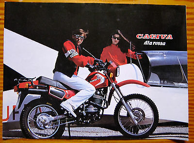 CAGIVA ALA ROSSA Motorcycle Dealer Brochure