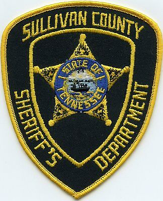 old vintage SULLIVAN COUNTY TENNESSEE TN SHERIFF POLICE PATCH