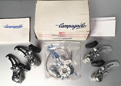Vintage Campagnolo Record Or Cantilever Brake Set Frt & Rr New In Box O.r. Cross