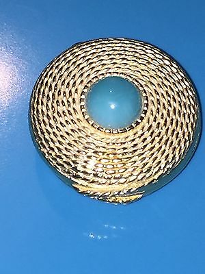 Estee Lauder Turquoise Youth Dew Solid Perfume Compact