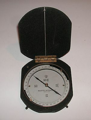 Vintage KEUFFEL & ESSER Surveying Compass