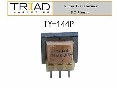 Triad Magnetics Audio Transformer PC Mount TY-144P 1:1 15K to 15Kohm CT USA
