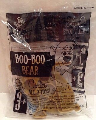Boo-Boo Bear Hanna Barbera Arbys Kids Meal toy in Sealed Package