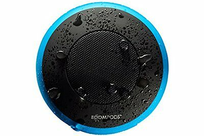 Boompods Aquapod Waterproof Speaker,  Punchy, Portable and Sporty! - Blue