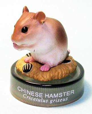 Kaiyodo Hamster's Lunch figure collection eating Chinese hamster US seller