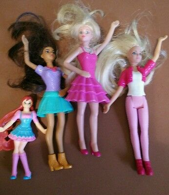 mcdonalds happy meal toys barbie lot of 4