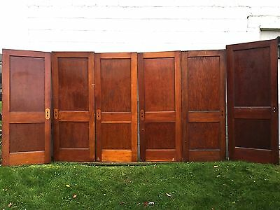 "6 Antique Pine 2 Flat Panel Interior Sliding Barn Pinterest 30"" Doors -Pickup"