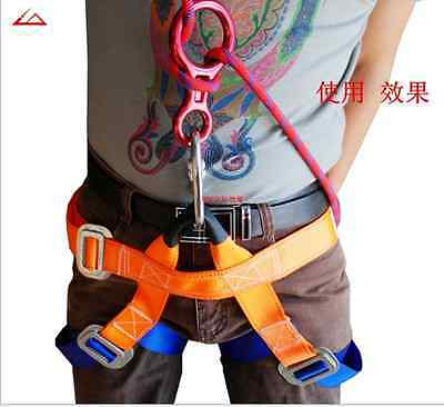 Seat Belts Harness Outdoor Sitting Safety Belts Rock Climbing Rappelling Equip