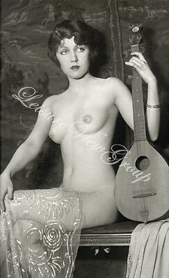 circa/1900  Risque Antique Postcard Reprint Nude Photograph 7x5x180g