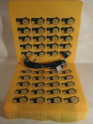 Two 20 Piece Sets of John Deere Waterloo Boy Tractor Christmas Decorative Lights