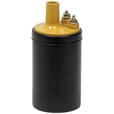 New 1965-73 Ford Ignition Coil Yellow Top Galaxie Fairlane Maverick Mustang