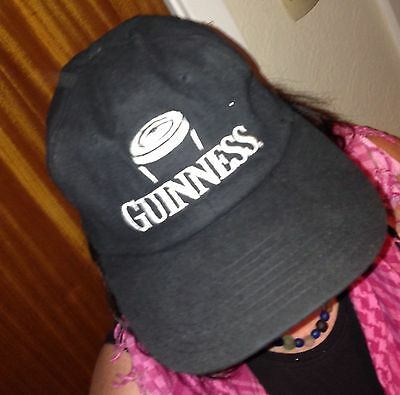 Guinness Rugby Logo Baseball Cap. Genuine Guinness Merchandise.