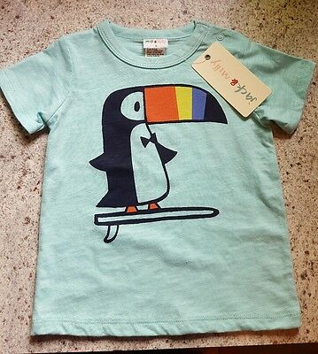 Jack and Milly, size 0, toucan tshirt *new*