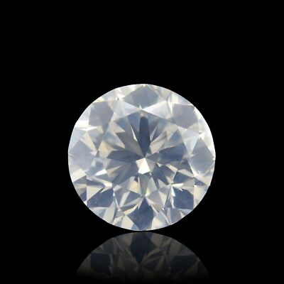 1.51 Carat Fancy White Loose Diamond Natural Color Round Cut GIA Certified
