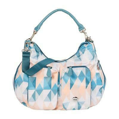 Oioi Designer Nappy Bag Reflector Geo Slouch Hobo +FREE GIFT worth $40