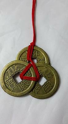 Feng Shui -  Three Lucky Coins  - Wealth