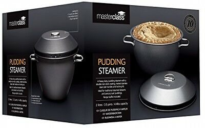 Master Class Non-Stick Pudding Basin / Steamer Bowl With Lid, 2 Litre (3.5 Pint)