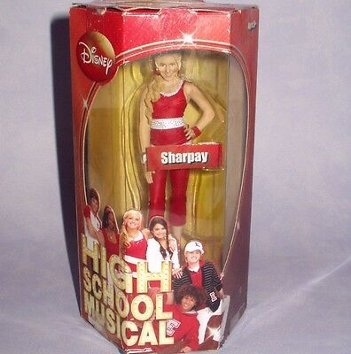 "DISNEY HIGH SCHOOL MUSICAL 6"" SHARPAY FIGURE Corinthian Figurine NEW BOXED BNIB"