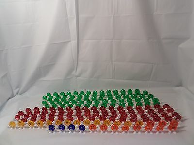 Huge Lot of 191 M & M's Christmas Patio String Light Covers Happy Candy Lights