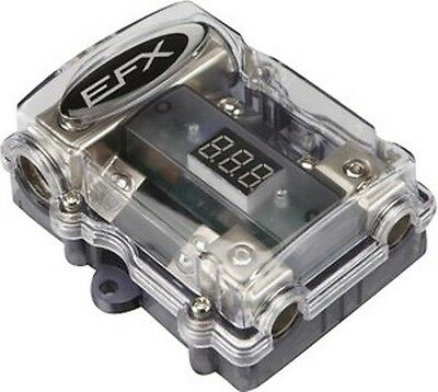 SCOSCHE-EFX SBLOCK2 Digital FUSED DISTRIBUTION BLOCK 1 1/0 IN, TWO 4-GAUGE OUT