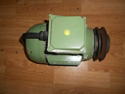 3 Phase Electric Motor AIREDALE With Pulley Class F-80