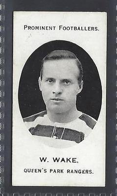 Taddy - Prominent Footballers (London Mixture) - W Wake, Queens Park Rangers