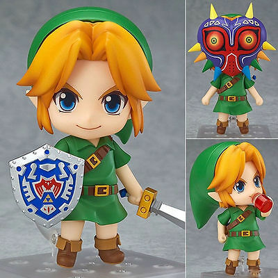 Anime The Legend of Zelda Link Majora's Mask Ver. PVC Figure Toy Nendoroid #553