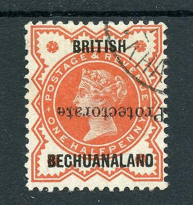 Bechuanaland Protectorate 1890 ½d vermillion inverted SG54a cat £120