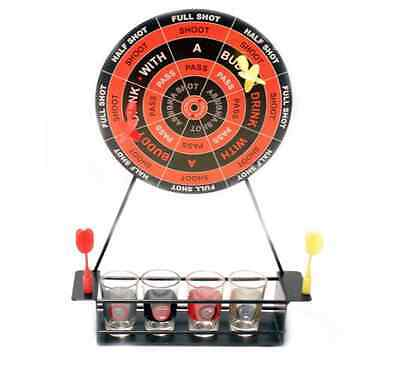 Adult Drunken Darts Drinking Party Game Board Shot Glasses Uni Christmas Gift