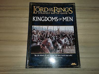 The Lord of the Rings strategy battle source book kingdoms of men