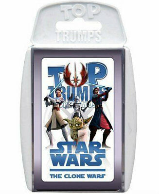 Star  Wars The Clone Wars Top Trumps Specials New And Sealed