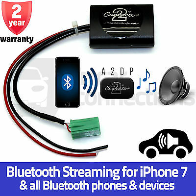 CTARN1A2DP Renault Scenic A2DP Bluetooth Streaming Interface Adapter iPhone 7