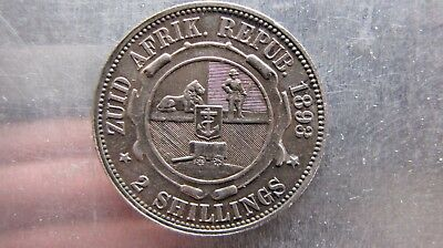 South Africa Two Shillings 1893 high grade !