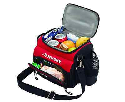 Husky Insulated Lunch Cooler Hot Cold Picnic Box Travel Strap Shoulder Tote Bag