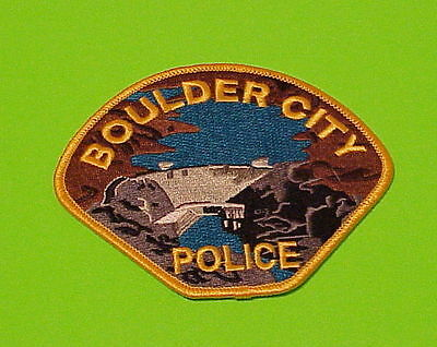 Boulder City  Nevada  Nv   Police Patch   Free Shipping!!!