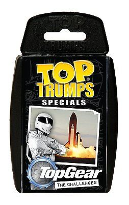 Top Gear The Challenges Top Trumps Specials New And Sealed