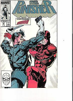 The Punisher #10 (1988)  Daredevil appearance