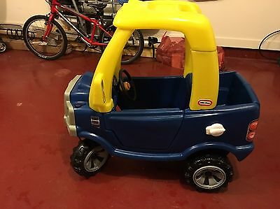 Little Tikes Cozy Coupe Truck toy Ride On Car. Used lightly. Garaged. Excellent.