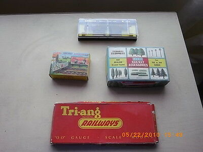 triang/hornby merit bachmann empty boxes x 4 good condition