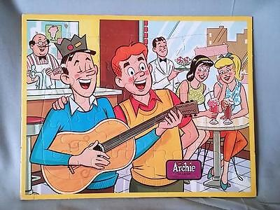 Vintage Jaymar ARCHIES Frame Tray Puzzle # 35 Clean