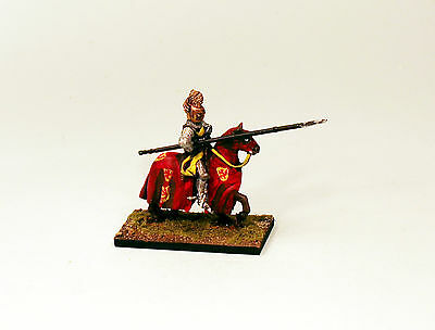 Alternative Armies 28mm Pro-Painted Medieval Scottish Mounted Knight with Lance