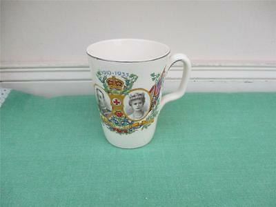 Bovey Pottery Co. Ltd 1935 Silver Jubilee Mug - King George V & Queen Mary