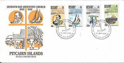Pitcairn Islands - Seventh-Day Adventist Church Official First Day Cover