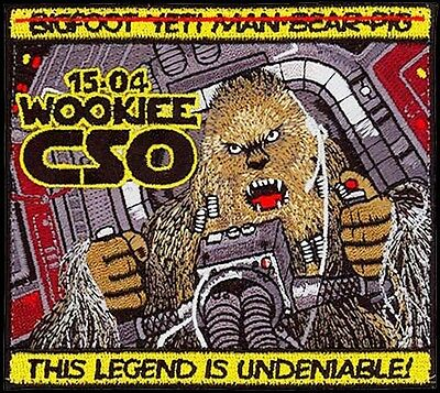 Usaf Combat Systems Officer Training -2015-04- Wookiee -Original Air Force Patch