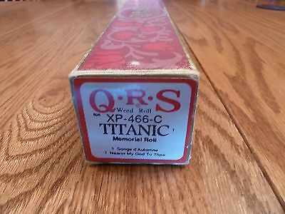 "Celebrity Series QRS Pianola Roll ""TITANIC Memorial Roll""- collection of 2 songs"