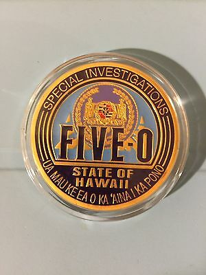Sealed (1) Rare Hawaii Five-0 5-O Film Crew Coin Promo Alex O' Loughlin~Season 7